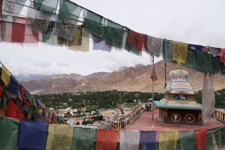 Chamba Camp Thiksey - Prayer Flags - India