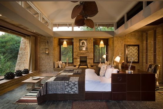 Pashan Garh Wilderness Lodge - Guest Room Bedroom - India