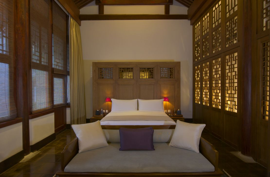 Aman At Summer Palace - Imperial Suite Bedroom - China