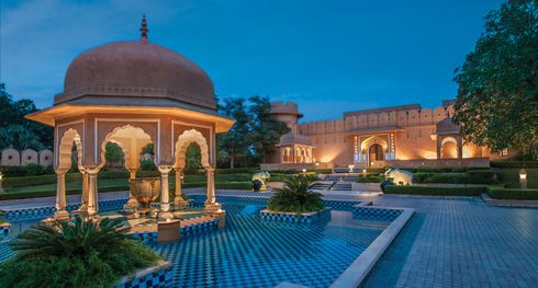 The Oberoi Rajvilas - Entrance Horizontal - India