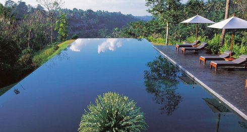 Alila Ubud infinity edge pool-Indonesie