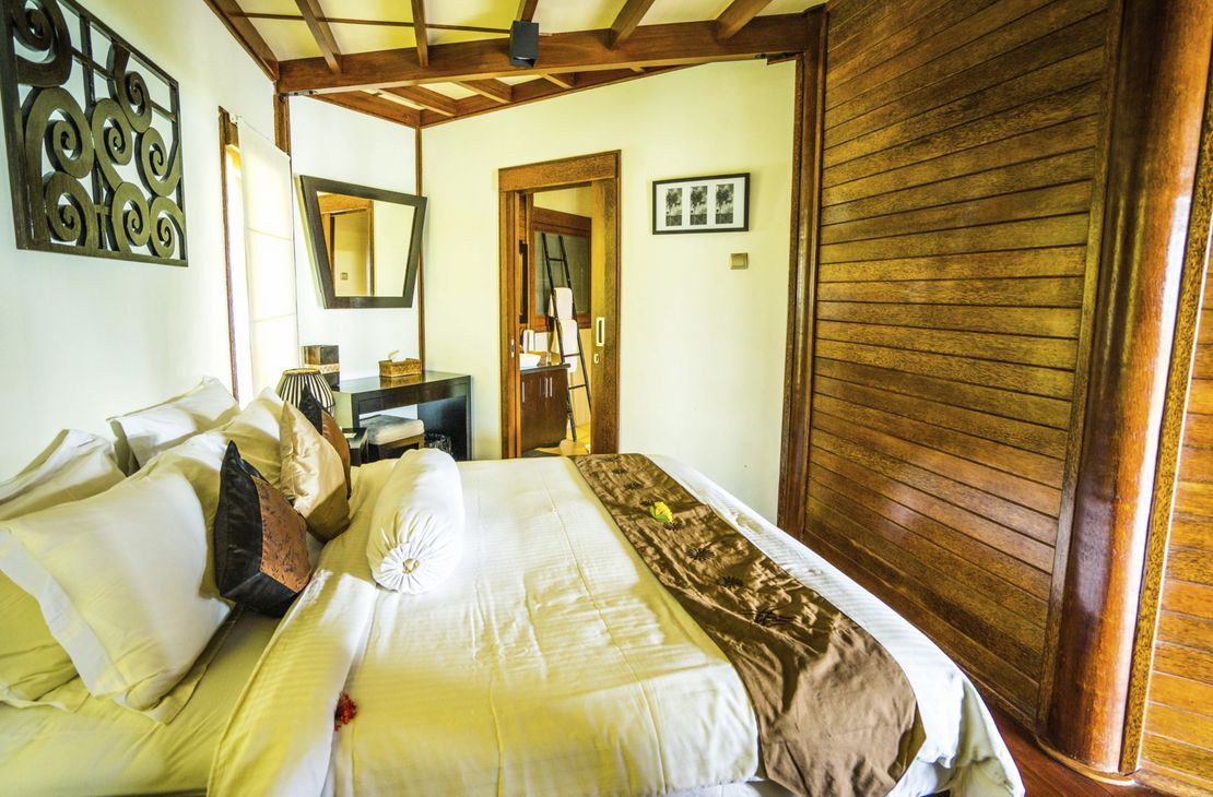 Sempiak Villas  OKEP bedroom - Indonesie