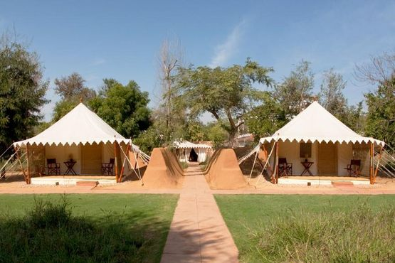 Sher Bagh - Tents Exterior - India