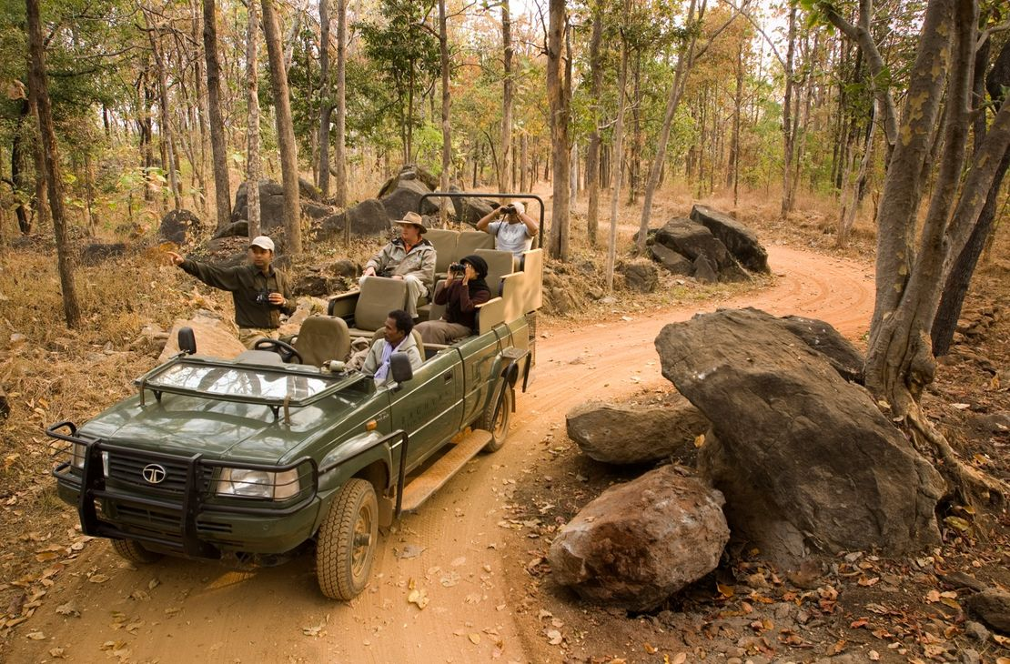 Baghvan Jungle Lodge - Jeep Safari - India
