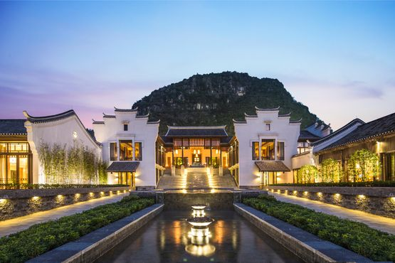 Banyan Tree Yangshuo - Lobby Exterior View - China