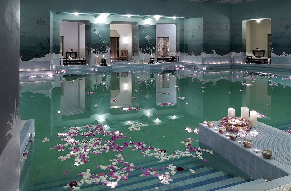 Taj Umaid Bahwan Palace - Indoor Pool - India