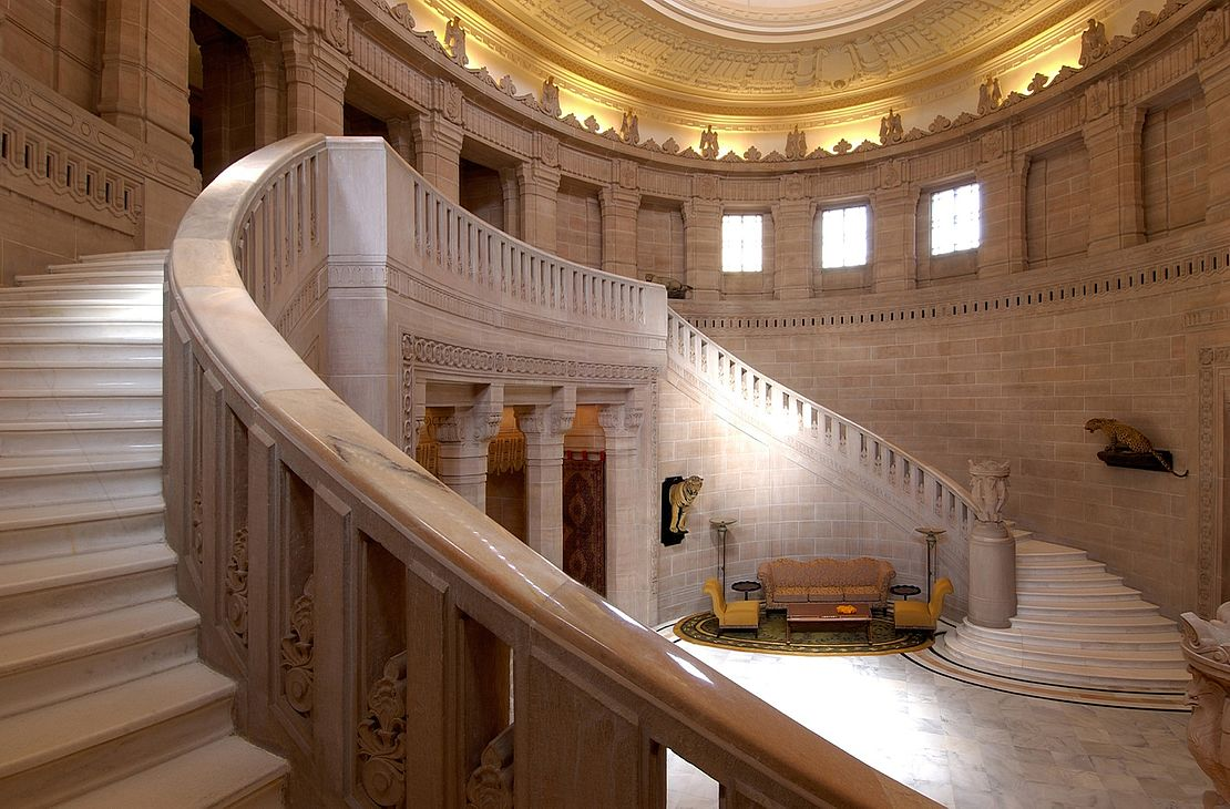 Taj Umaid Bahwan Palace - Stairs - India