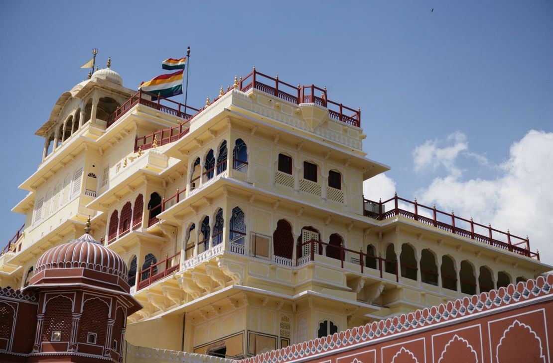 City Palace Closeup - Jaipur - India