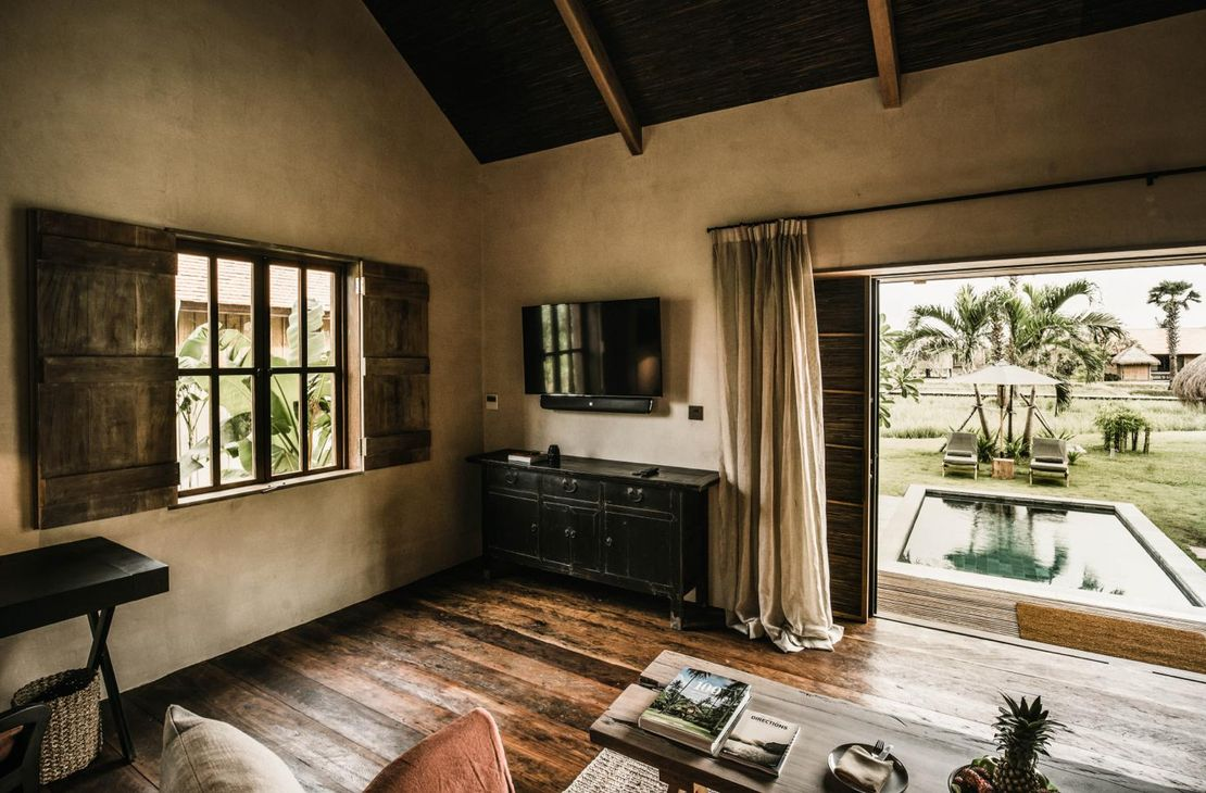Phum Baitang - Bedroom and View - Cambodja