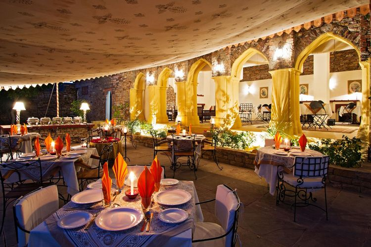 Ramathra Fort - Outdoor Dining - India