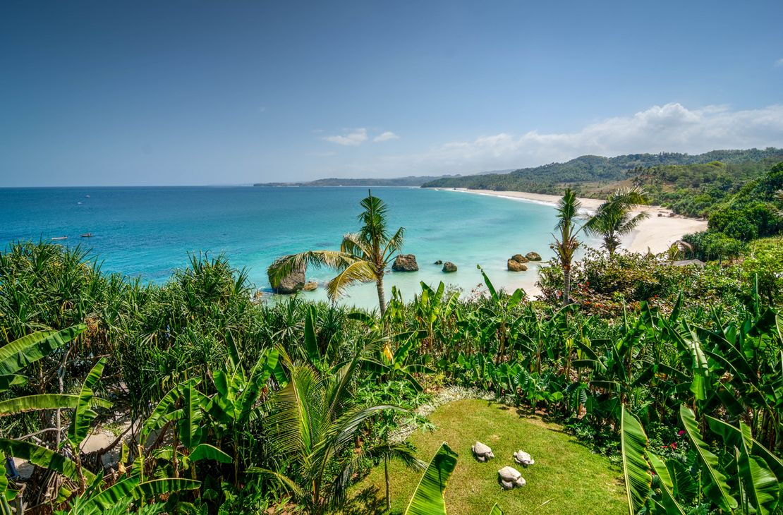 Nihiwatu Sumba Island beach view - Indonesie