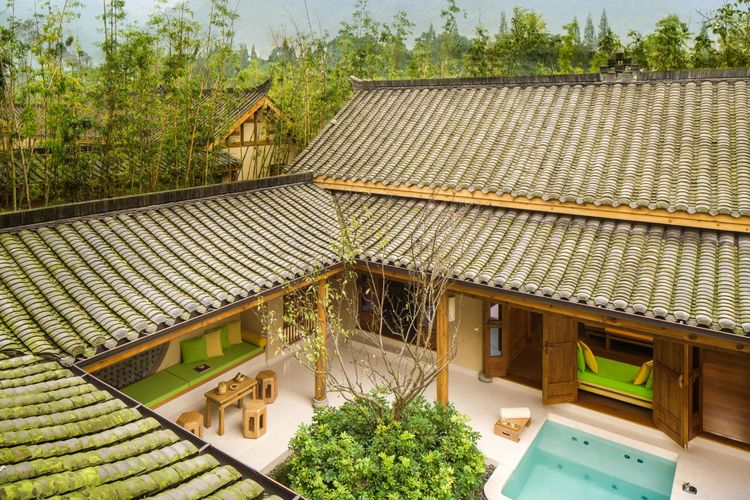 Six Senses Qing Cheng Mountain - Two Bedroom Deluxe Courtyard Villa - China