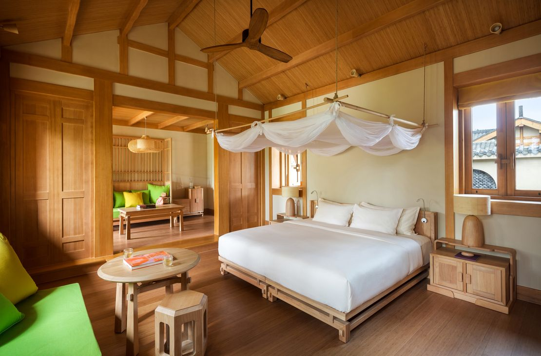 Six Senses Qing Cheng Mountain - Deluxe Suite Bedroom - China