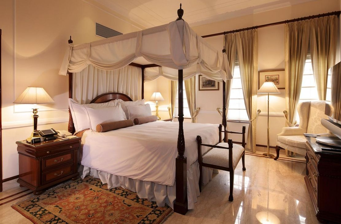 The Imperial - Luxury Suite Bedroom - India