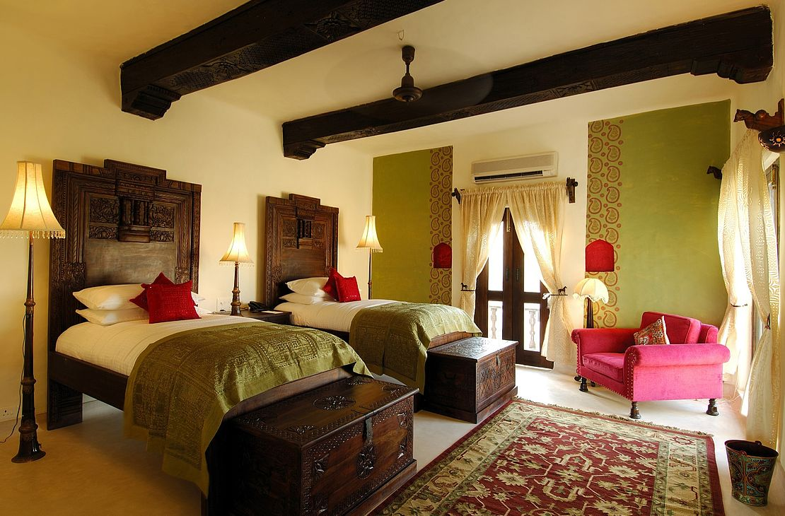 Mihir Garh Fort - Suite Bedroom - India