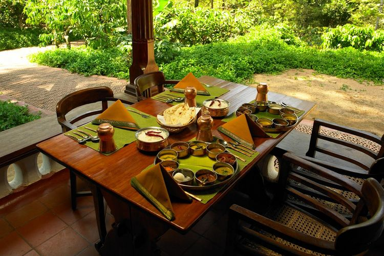 Orange County Coorg - Plantain Leaf Restaurant - India
