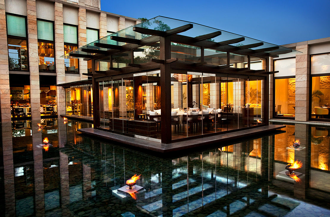 The Lodhi - The Exclusive Glassed Jetty At OTW - India