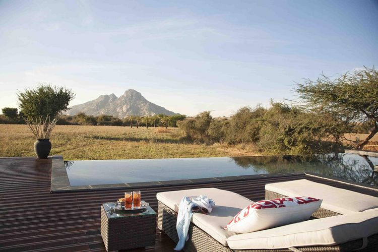 Jawai Leopard Camp - Pool - India