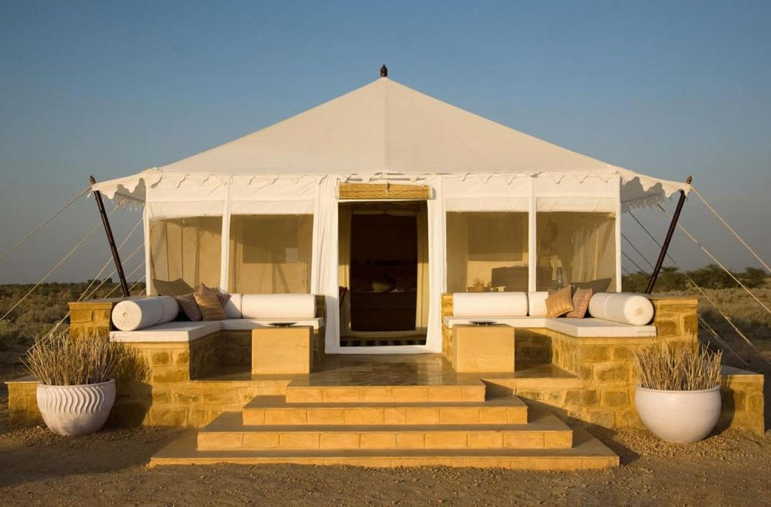 The Serai - Tented Suite Front - India