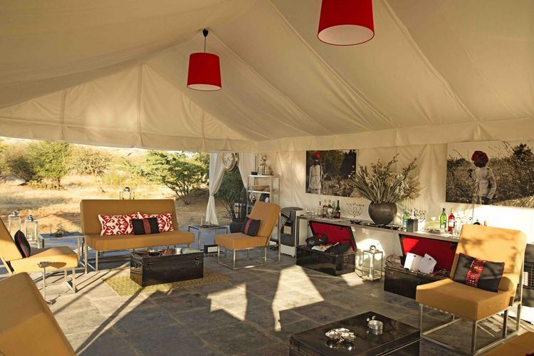Jawai Leopard Camp - Lounge - India