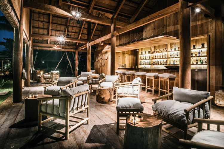 Phum Baitang - Pool Bar - Cambodja