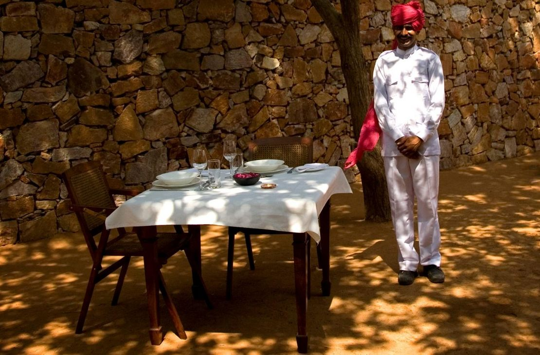 Sher Bagh - Outdoor Dining - India