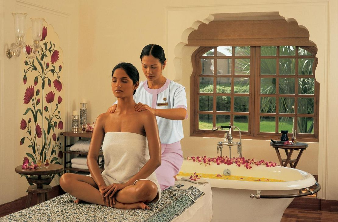 The Oberoi Rajvilas - Spa Therapy - India