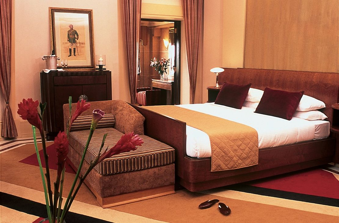 Taj Umaid Bahwan Palace - Bedroom - India