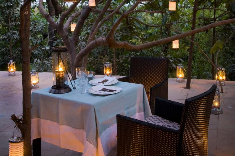 Pashan Garh Wilderness Lodge - Dining Experience - India