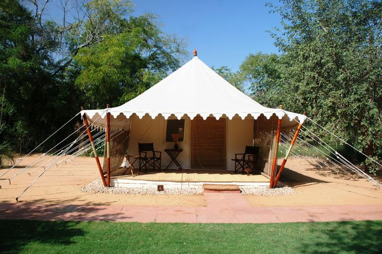 Sher Bagh - Tent Exterior - India