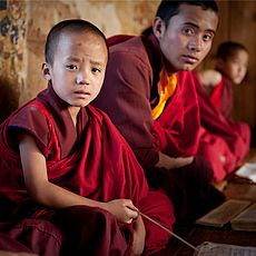 Young Monks - Bhutan - Vrouwenhof