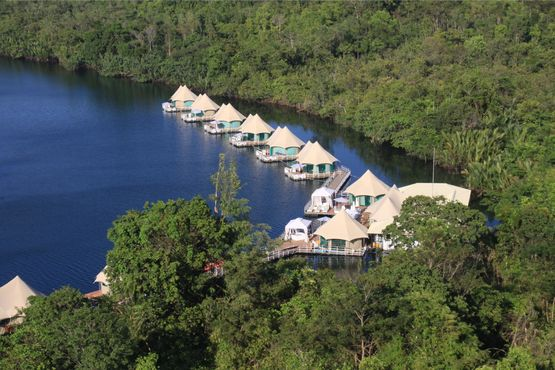 4 Rivers Floating Lodge - Overview - Cambodja