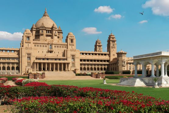 Taj Umaid Bahwan Palace - Exterior - India