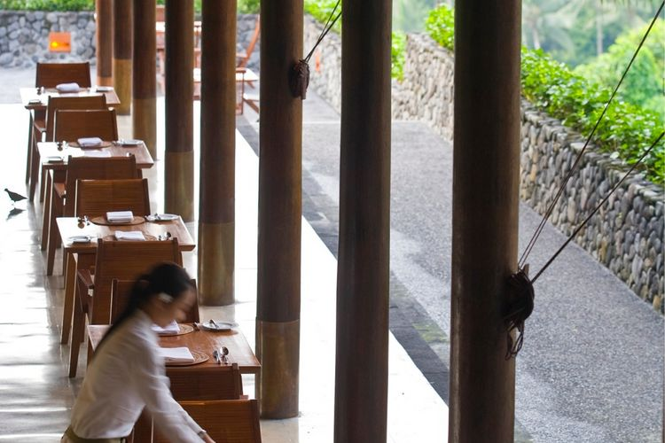 Alila Ubud plantation dining-Indonesie