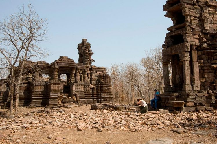 The Sarai At Toria - Ruine - India