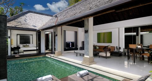 The Amala pool villa overview - Indonesie