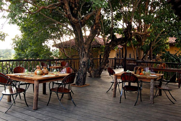 Samode Safari Lodge - Restaurant - India
