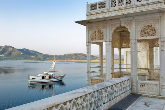 Taj Lake Palace View -  Udaipur - India
