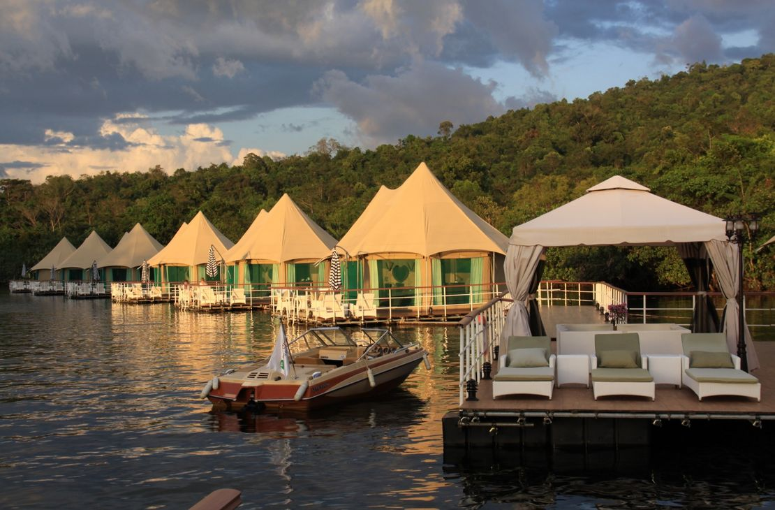 4 Rivers Floating Lodge - Exterior - Cambodja