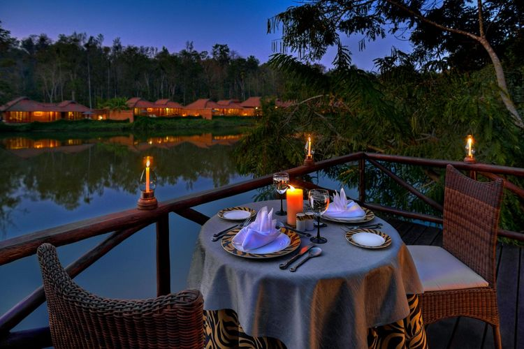 Orange County Coorg - Romantic Dining - India