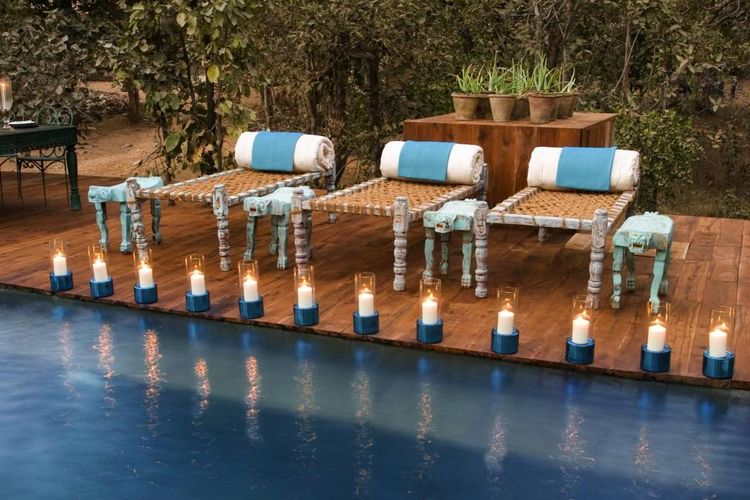 Baghvan Jungle Lodge - Pool - India