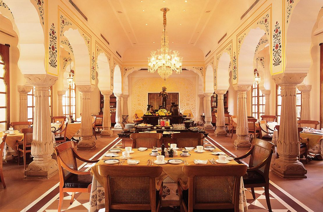 The Oberoi Rajvilas - Surya Mahal Restaurant - India