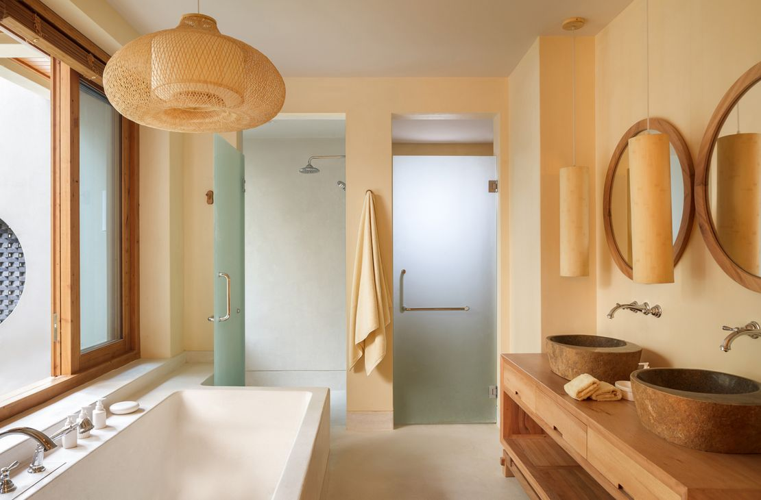 Six Senses Qing Cheng Mountain - Deluxe Suite Bathroom - China