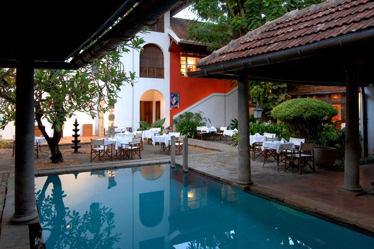 Malabar House - Patio Pool - India